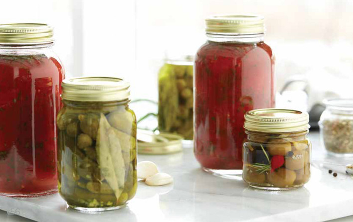 food styling canned foods
