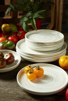food styling fresh tomatoes