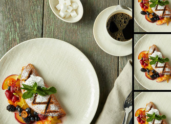 An omelet for dessert? That's right!