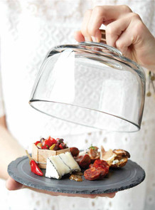 food styling a cheese tray