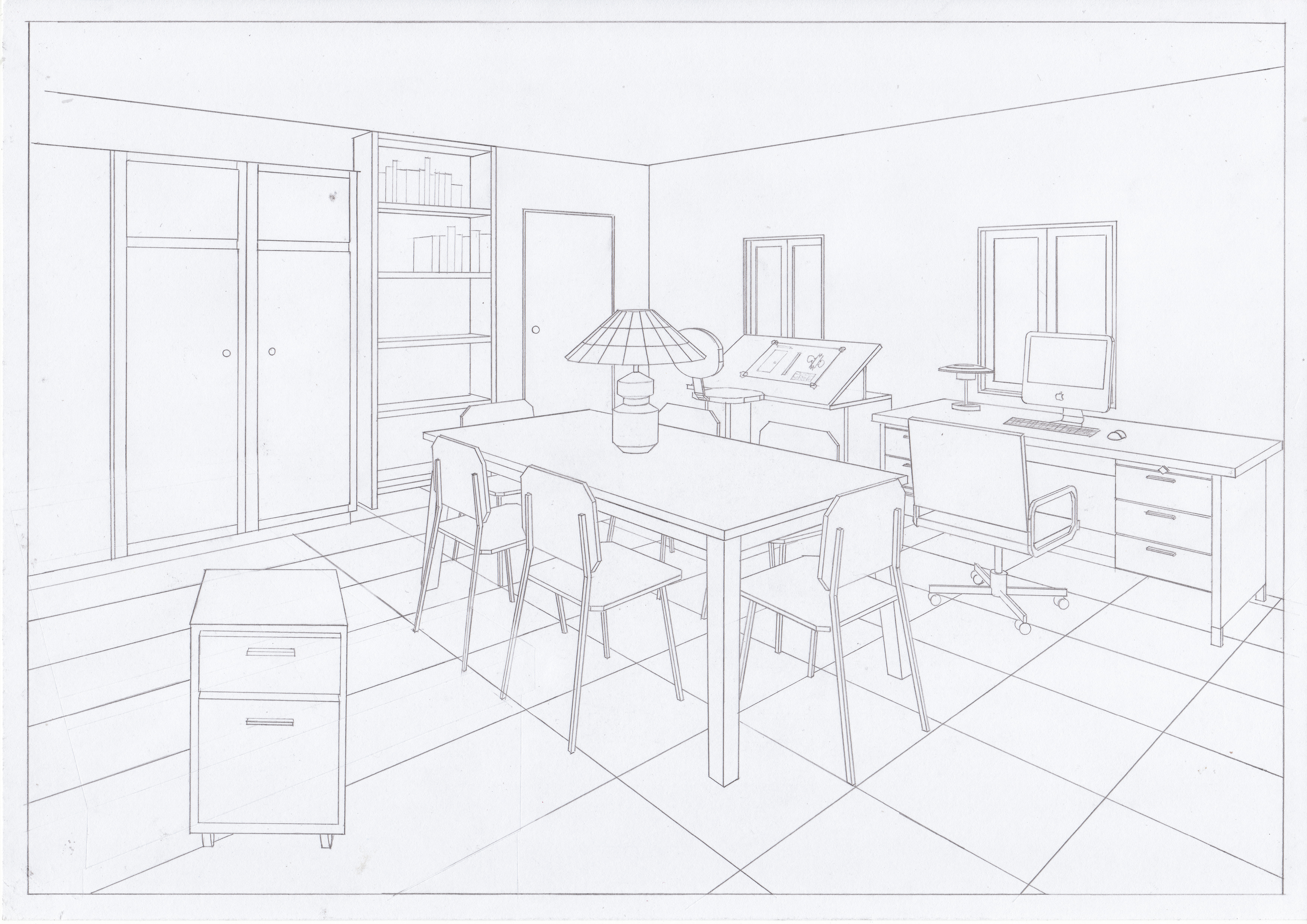 Room Hand Drawing