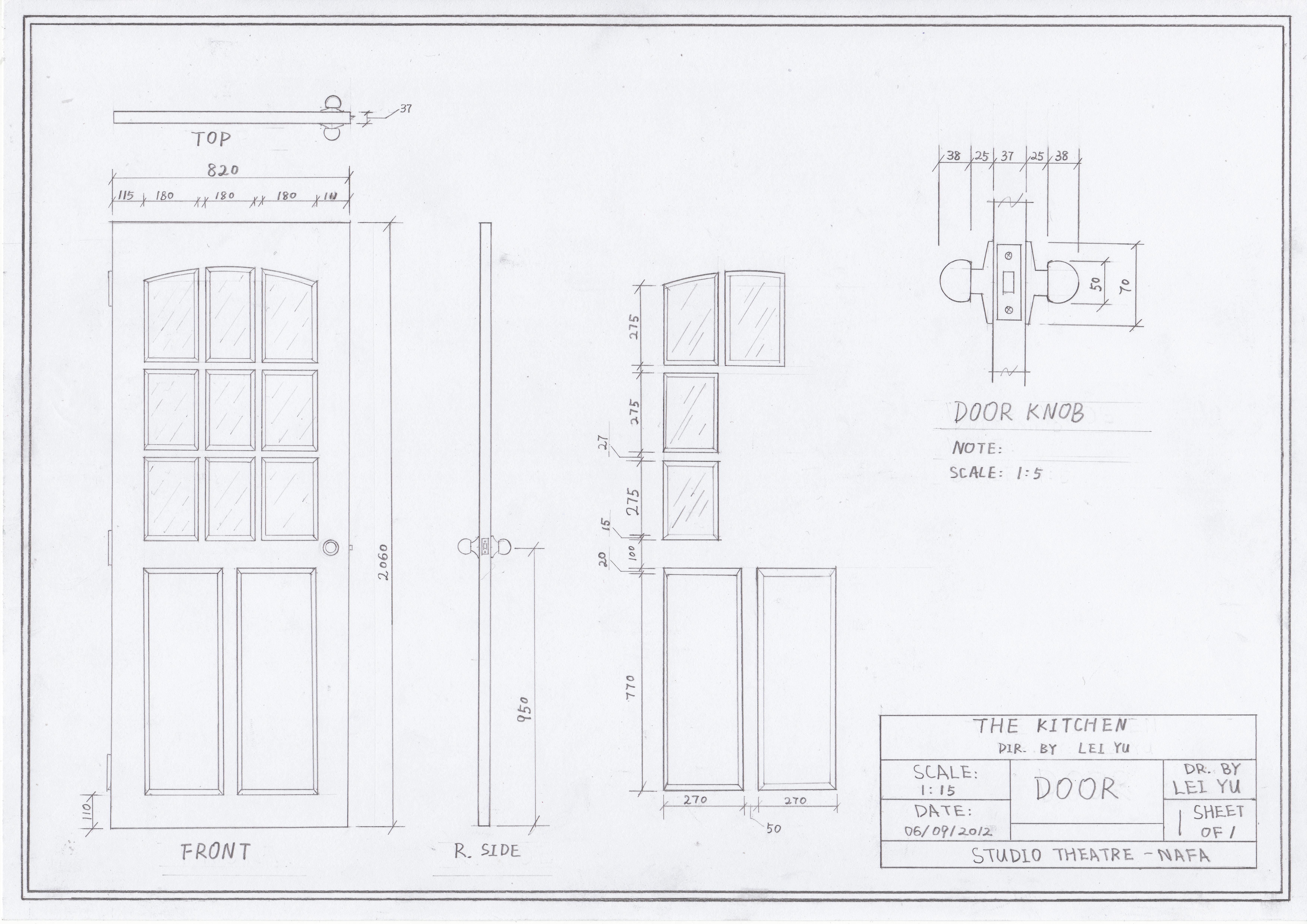Door Hand Drawing