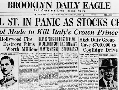 """Quando só """"crise"""" não basta: 90 anos desde a Grande Depressão"""