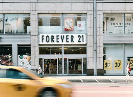 FOREVER 21: a queda de um dos maiores impérios de fast-fashion