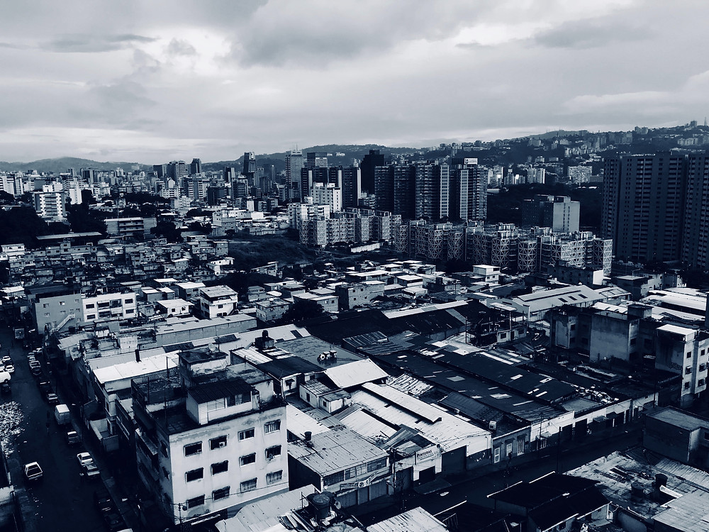 Cidade humilde na Vezeuela