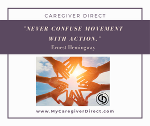 Caregiving Duties Movement and Action