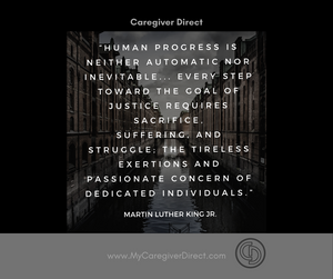 Caregiving supports human dignity
