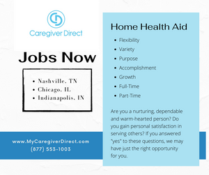 Caregiver Jobs available now