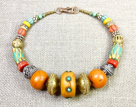 Moroccan Statement Necklace