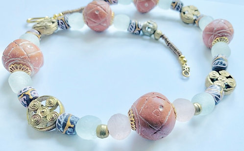 Mali Clay Necklace