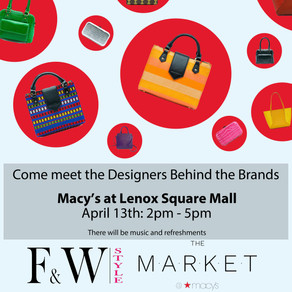 Flyer for Market at Macy's!