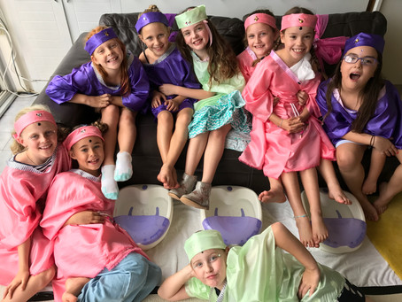 Pamper Party for your Princess