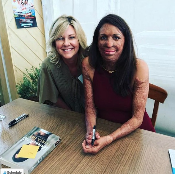 Turia Pitt and Melanie O'Brien