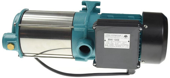 Поверхностный насос MHI 1300 INOX, крыльчатка нержавейка, 220 вольт