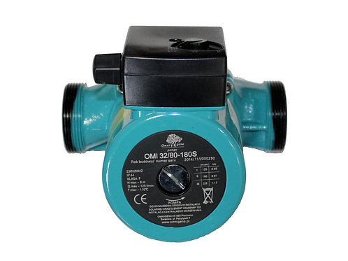 Циркуляционный насос для систем отопления OMIS 32-80/180