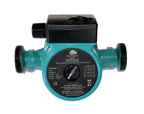 Насос циркуляционный Omnigena OMIS 25-40/180 для систем отопления