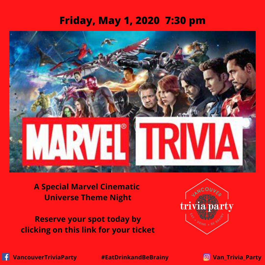 Marvel Movie Online Trivia