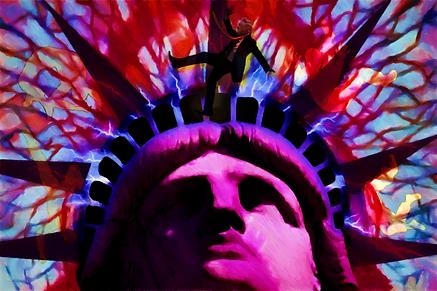 Lady Liberty - American Jeopardy