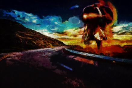 Mountain Road at the Apocalypse