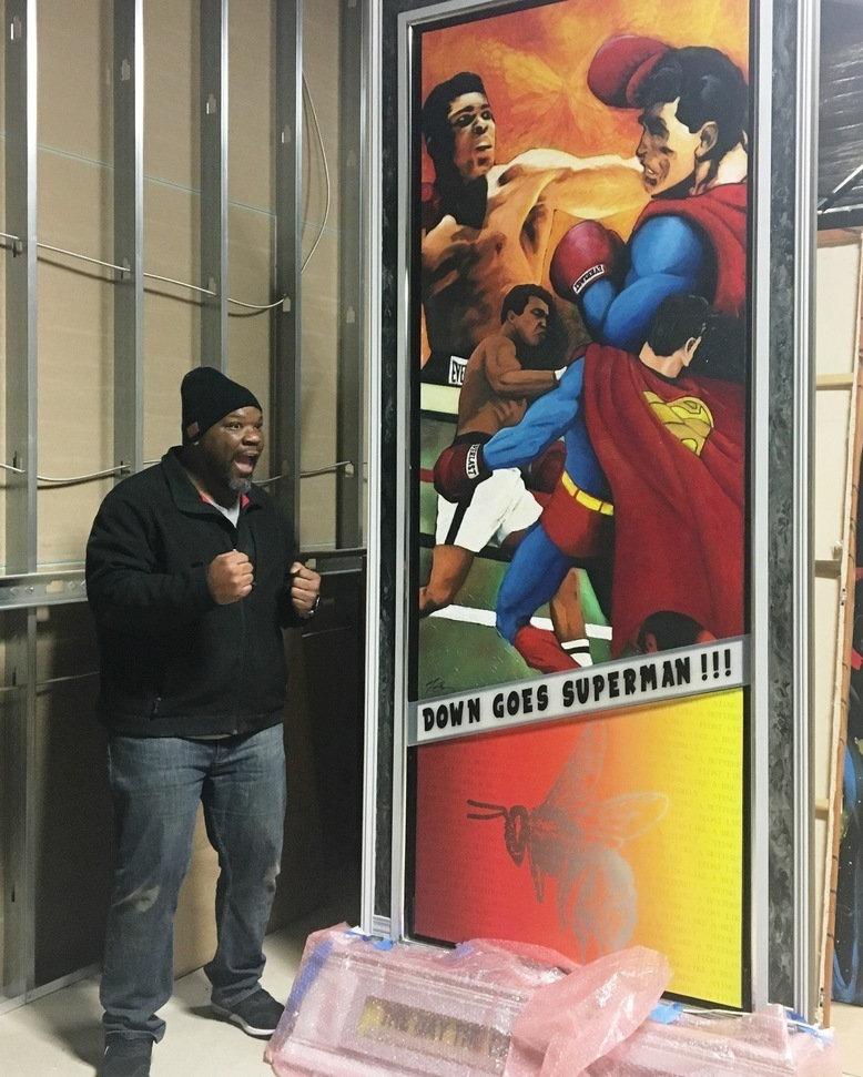 Muhammad Ali versus Superman