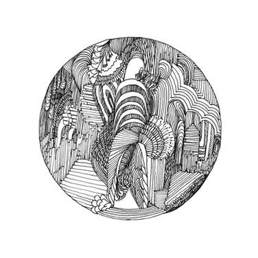 virabhadrasana i, variation