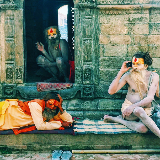 Snarky sages and beheaded goats: the degeneration of Hinduism