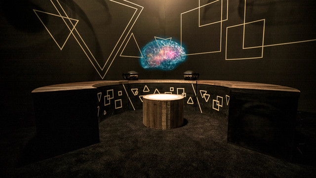 Journey to the center of the natural machine - AR experience