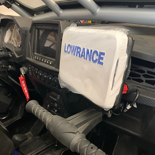 Polaris RZR GPS Package- Lowrance Elite-7 Ti² GPS and Mount