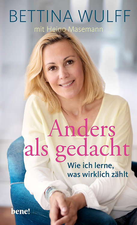 """Buch """"Anders als gedacht"""""""