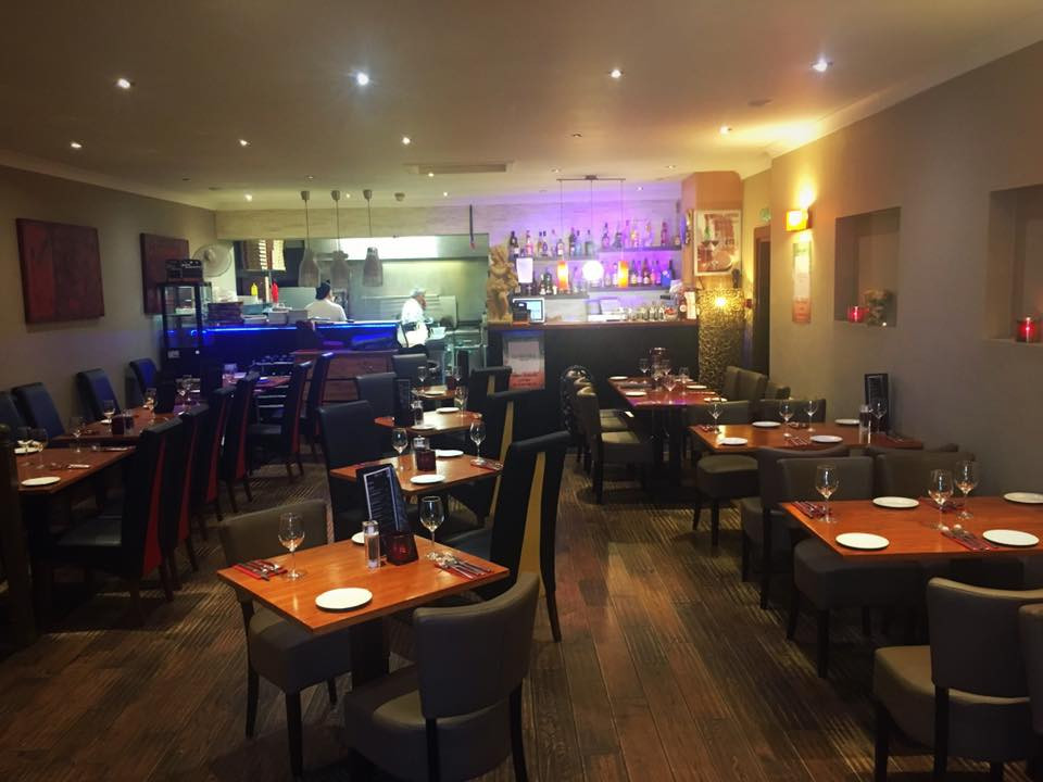 Full View Of Restaurant