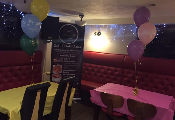Birthday Party Setup
