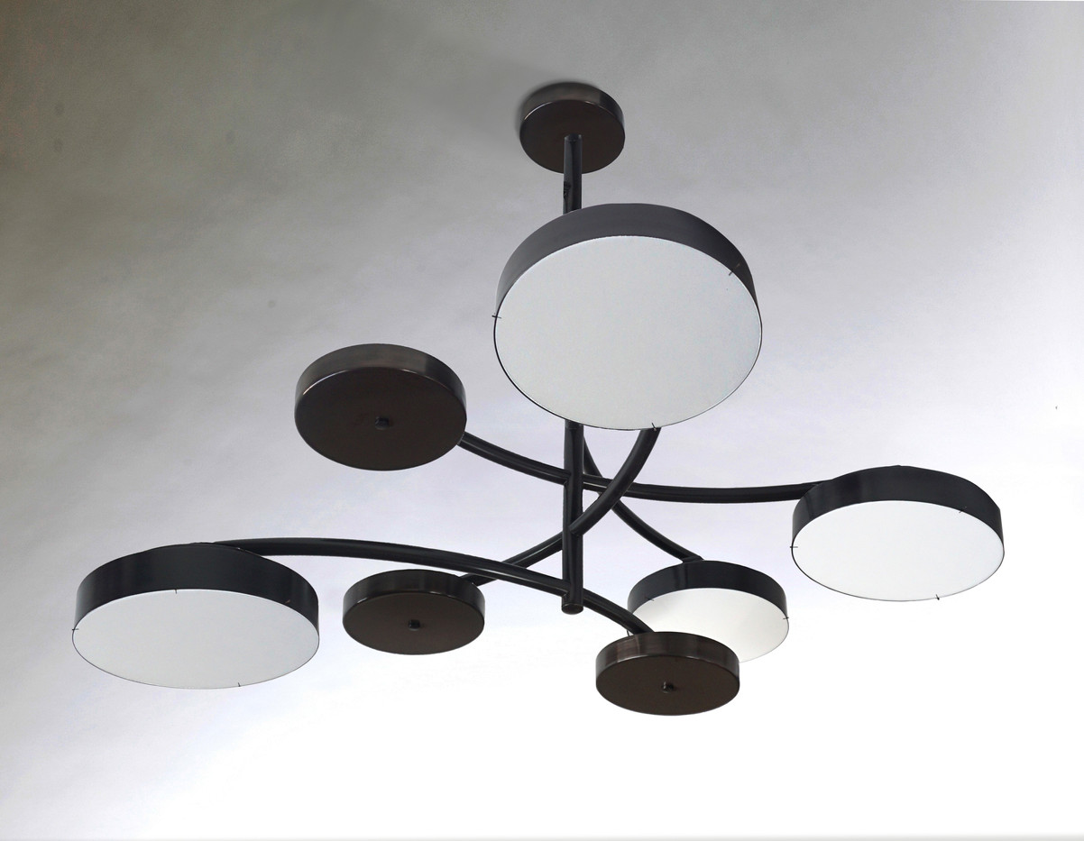 CONCENTRIC CHANDELIER BLACK