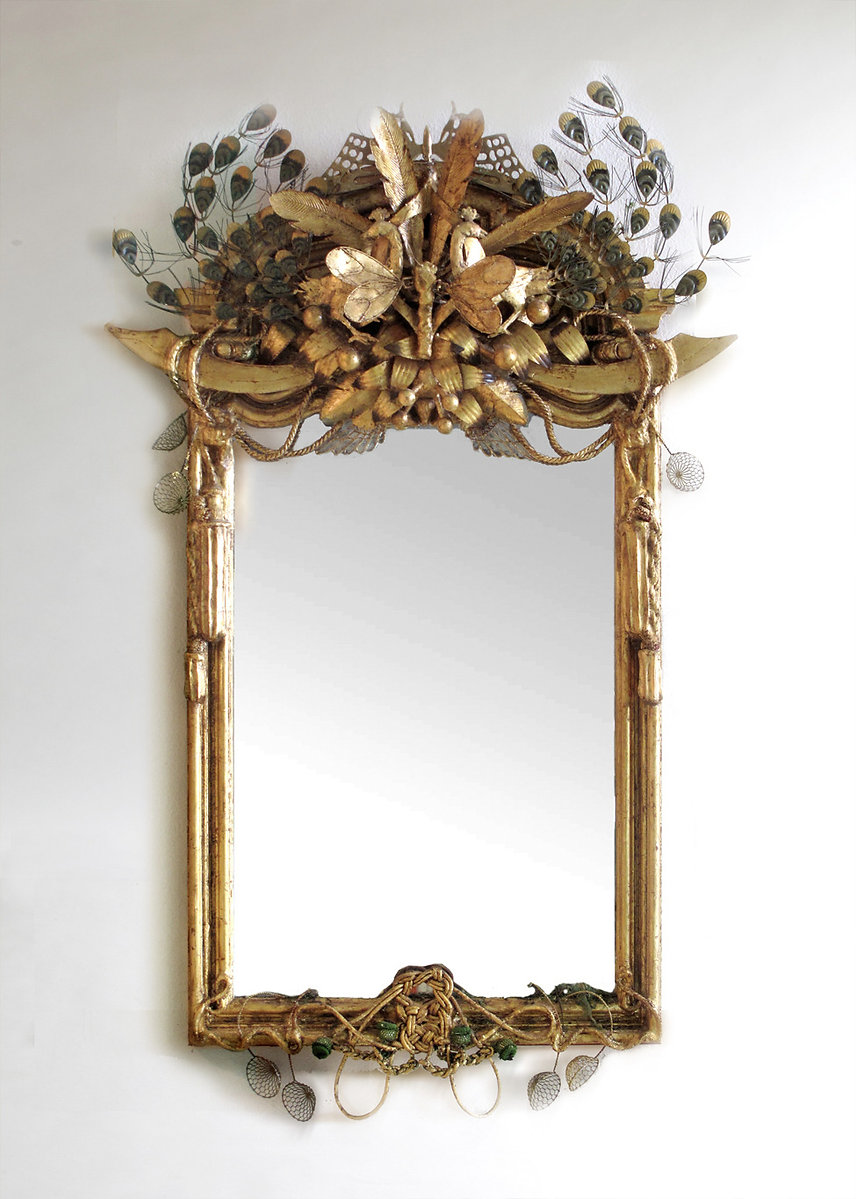 OBJET TROUVE MIRROR Fine Furnishings Lighting and Plaster Mirrors and Art