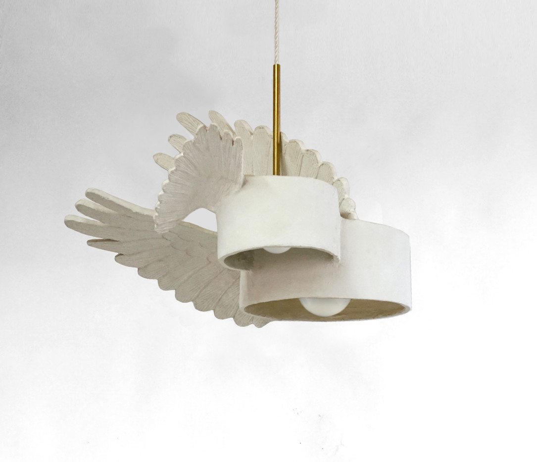 PLASTER OBSCURA WINGED CLUSTER