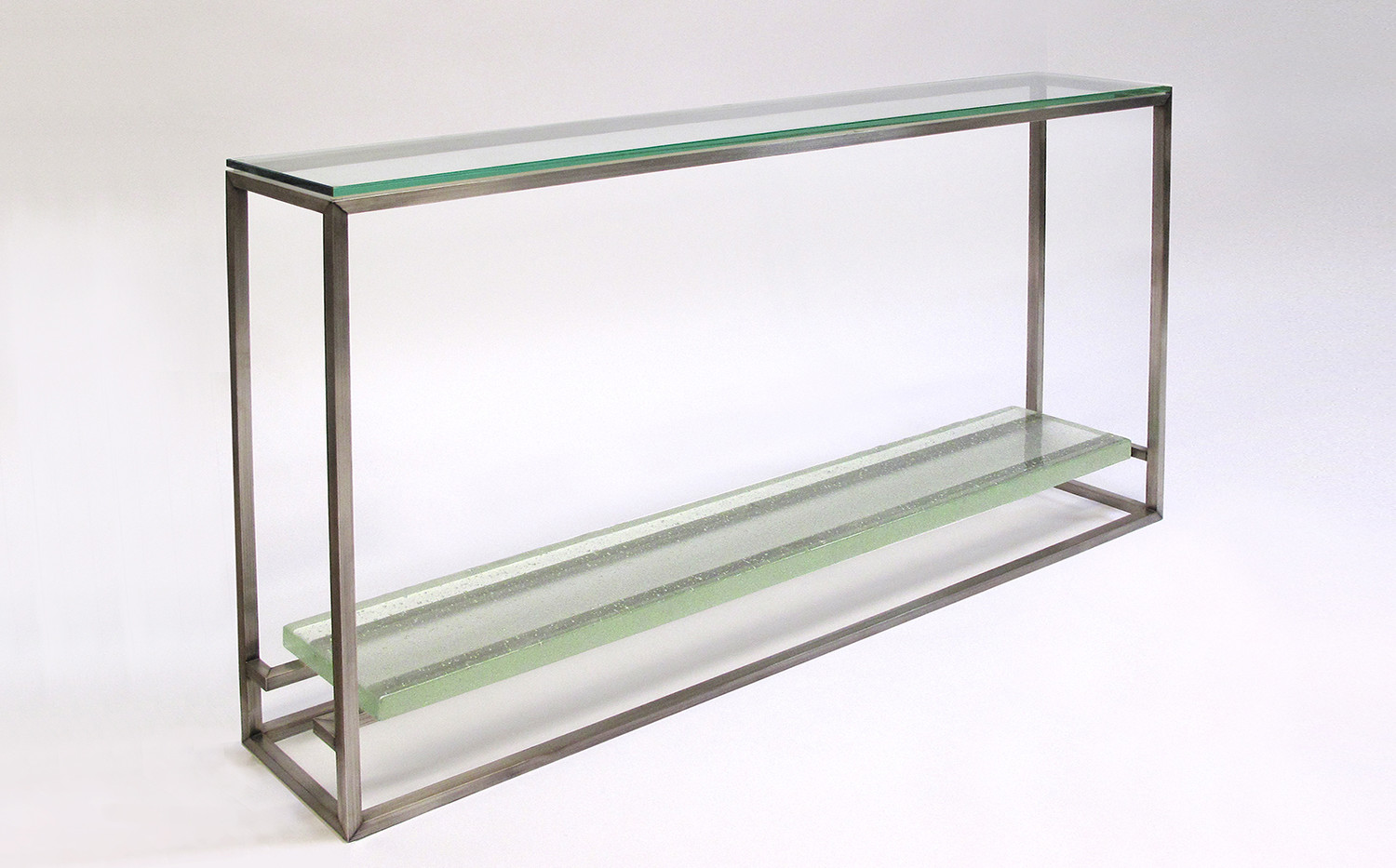CAST GLASS CONSOLE