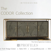 Now showing exclusively at The New York Design Center PROFILES.