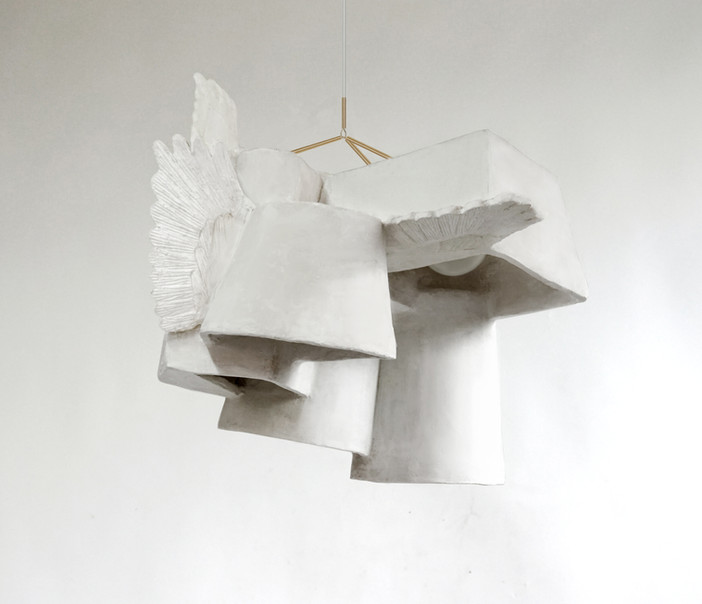 WINGED PLASTER OBSCURA (Detail)