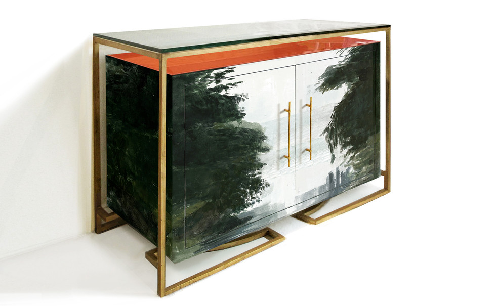 PAINTED CREDENZA SMALL