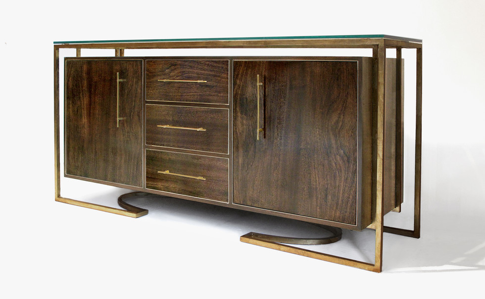 HANGING CREDENZA with drawers