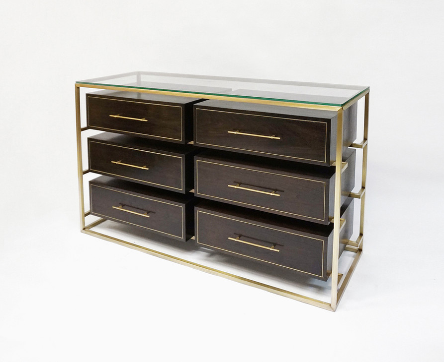 FLOATING DOUBLE ROW DRESSER