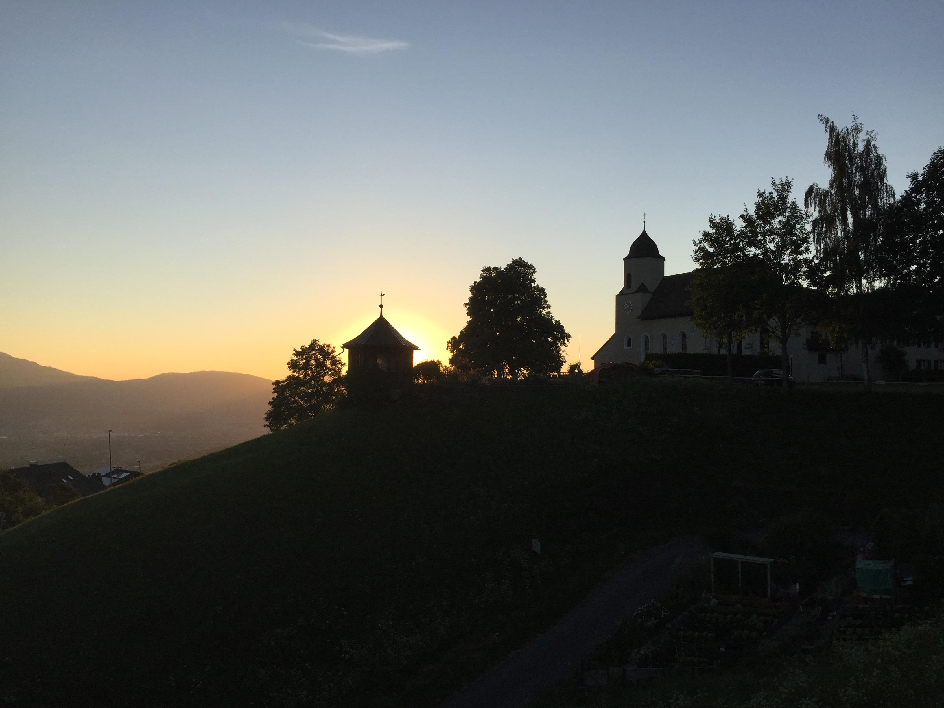 Viktorsberg Richtung Schweiz