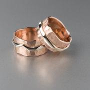 stoere ringen van roodgoud