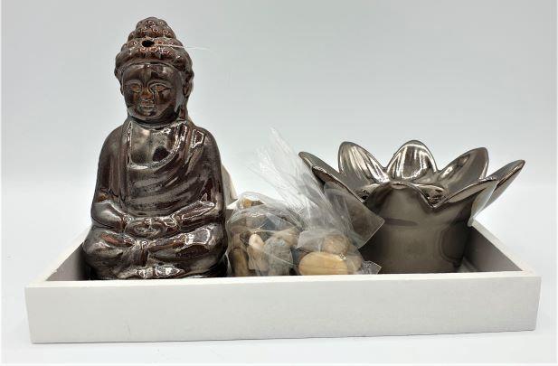 SET INCENSO ZEN BUDDHA