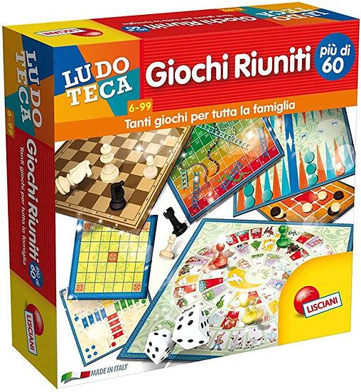 GIOCHI RIUNITI + DI 60 !