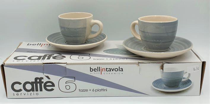 SET 6 TAZZE CAFFE'
