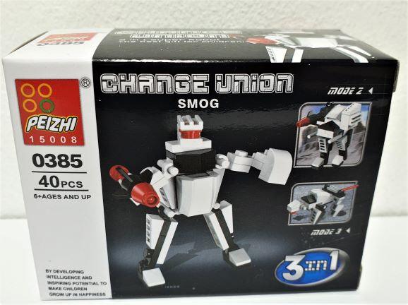 ROBOT TRASFORMERS 40 PZ 3 IN 1