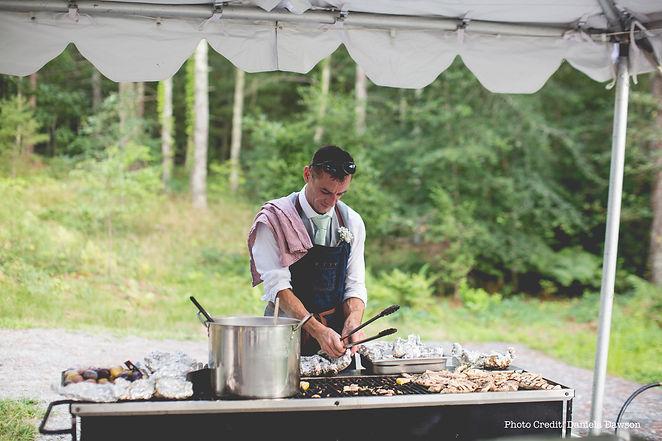 Martin Davies, Wedding Caterer, Cornwall