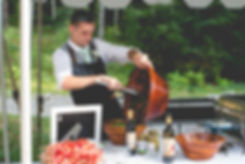 Martin Davies providing wedding buffet catering