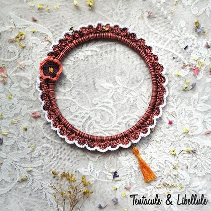 Tri-colors Crochet Frame
