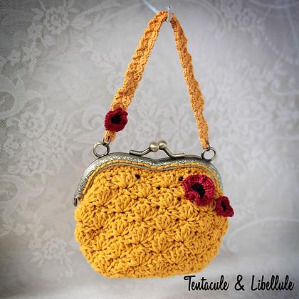 Vintage Crochet Handbag or Purse